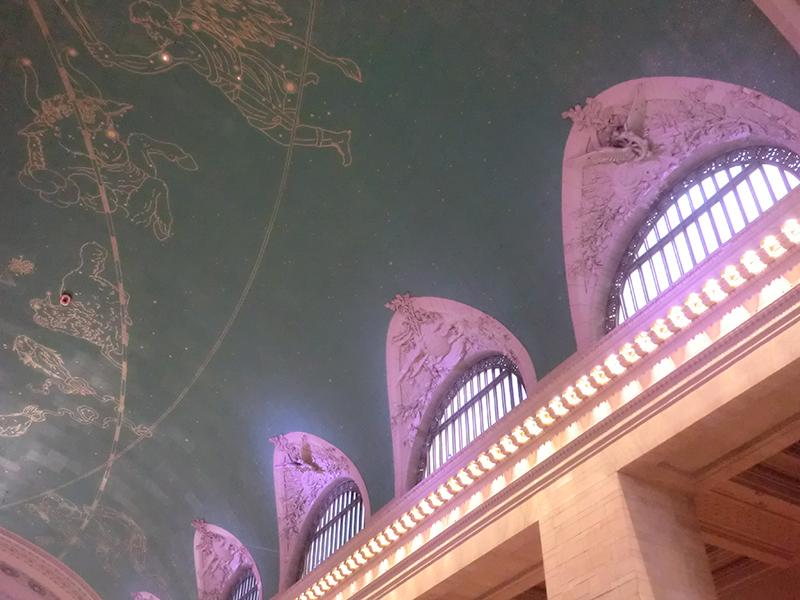 グランドセントラル駅の天井